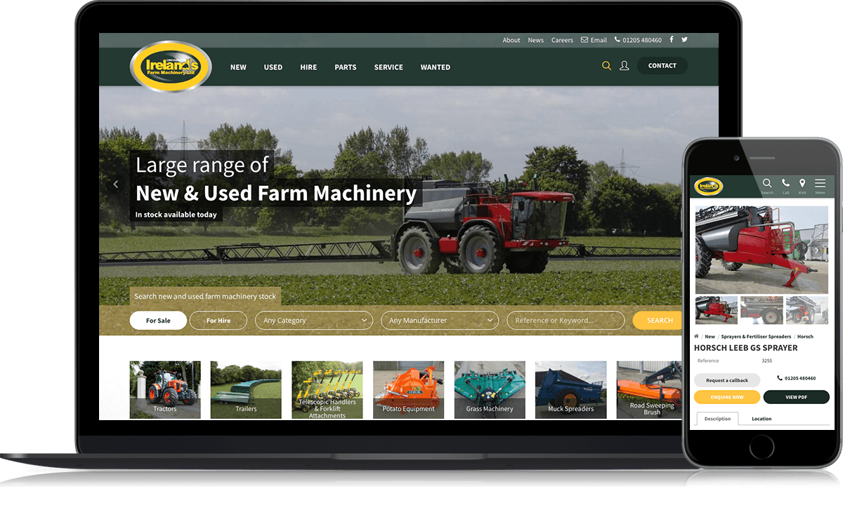 Irelands Farm Machinery