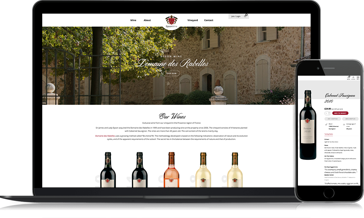 Dysons Wines